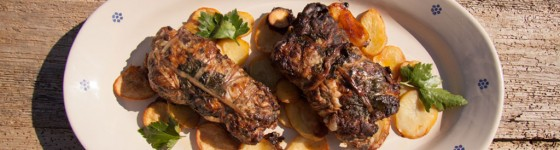 Agriturismo Valle d'Itria - Alcuni piatti dello chef Antonio catucci